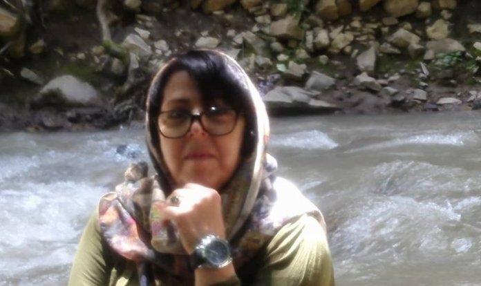 Mahrokh Kanbari presa pelo regime do Irã. (Foto: Reprodução/Middle East Concern)