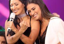 As irmãs cantoras Simone e Simaria