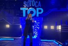 """Bruna Karla participa do programa """"Só Toca Top"""", da Rede Globo"""