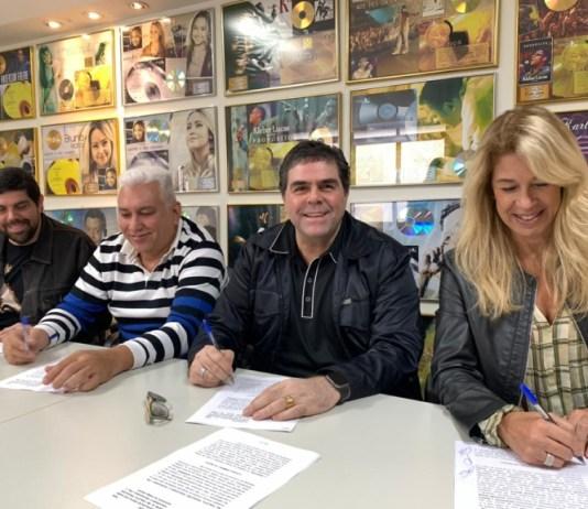 Banda Catedral assina com a gravadora MK Music para distribuição de suas músicas nas plataformas digitais.