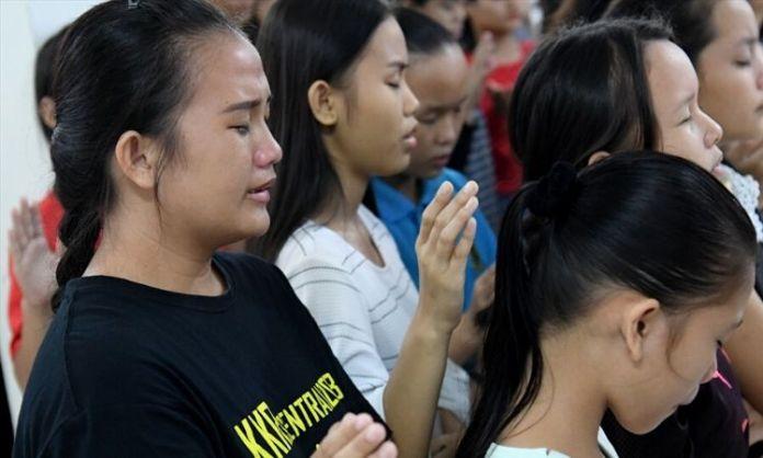 Jovens cristãos na Malásia