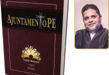 O jornalista Angelo Manassés, lança o livro AjuntamentoPE.