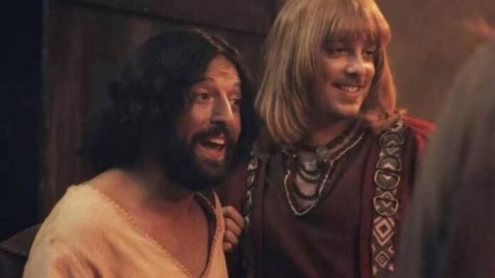 Imagem do especial Primeira Tentação de Cristo, do Porta dos Fundos, na Netflix