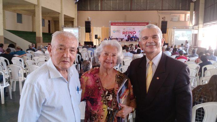 Pastor Emérito no Coração Pr. Walter Santos & Profª. Zeni Santos