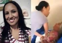 Cantora evangélica é flagrada em vídeo batendo na sogra