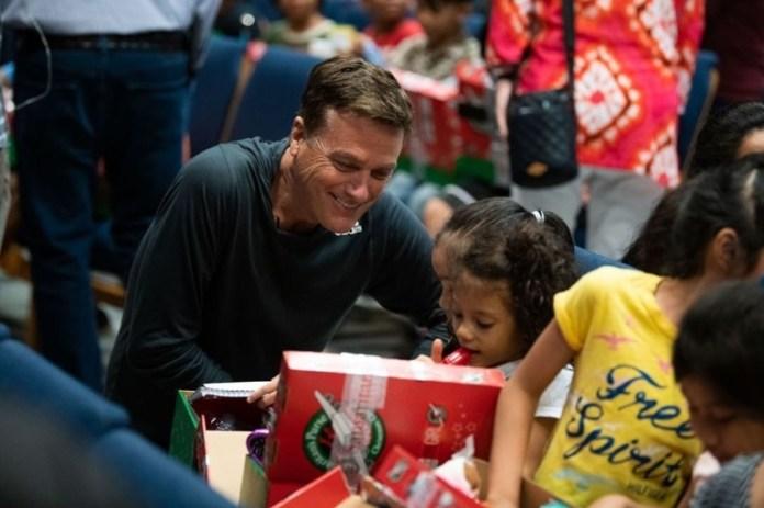 Michael W. Smith participou de ação social em Saipan Foto: Reprodução