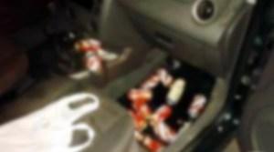 Read more about the article Flagrado com cerveja, condutor diz a policial que bebeu depois de ser 'chifrado'