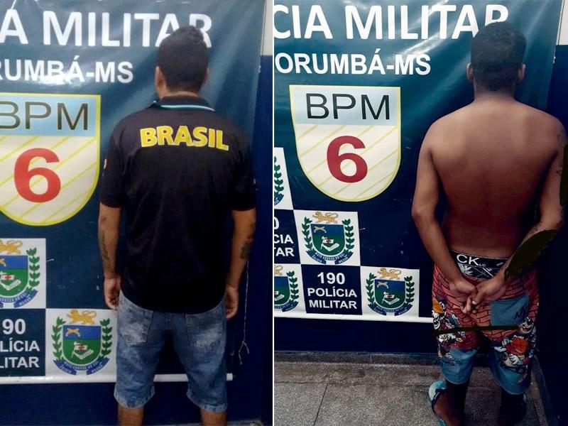 Read more about the article Foragidos da justiça são presos durante patrulhamento da PM em Corumbá