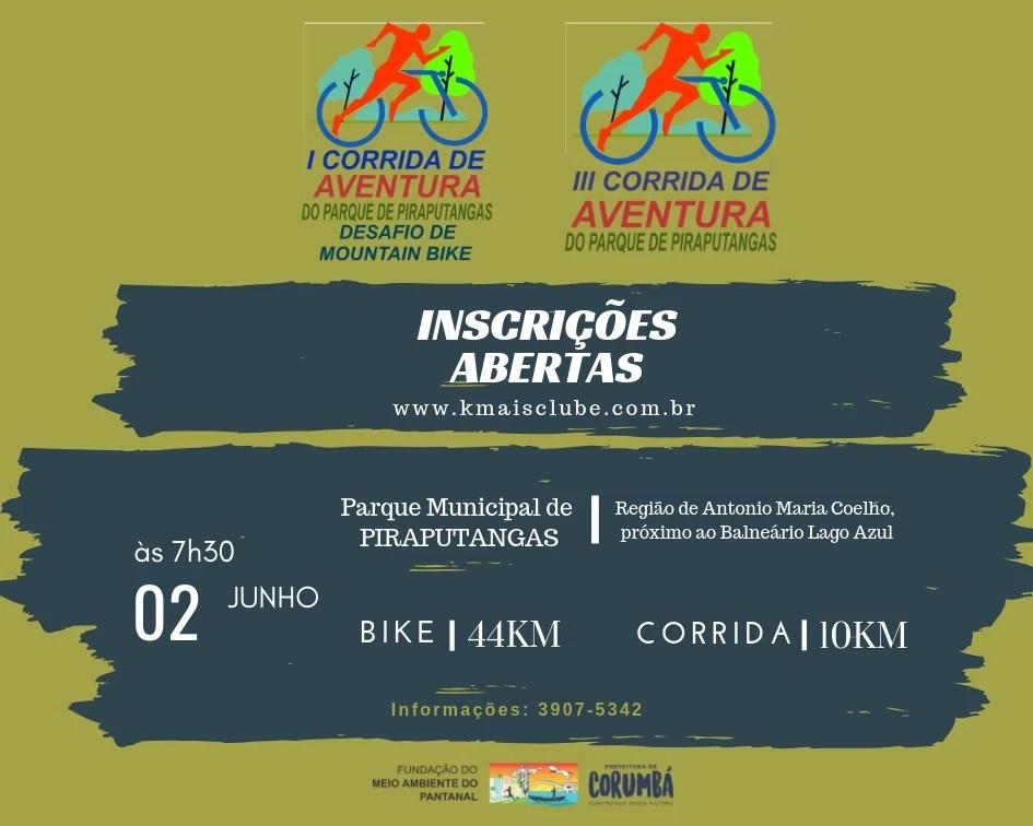 Read more about the article Corrida de Aventura abre comemoração da Semana do Meio Ambiente em Corumbá