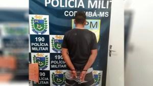 Read more about the article Homem é preso após ser detido por populares ao roubar celular no centro de Corumbá