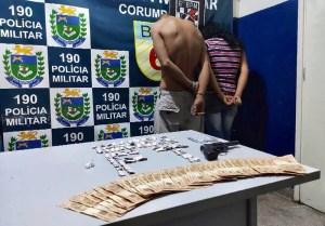 """Read more about the article Em abordagem no """"buracão da treze"""" casal é preso por tráfico de drogas"""