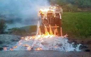 Read more about the article Ponte de madeira é destruída por incêndio no Pantanal   Vídeo