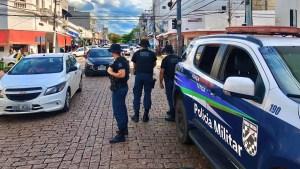 Read more about the article Operação Boas Festas | Policiais do º BPM reforçam segurança na região central de Corumbá