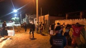 Read more about the article PM acaba com aglomeração no Guanã e prende indivíduo por desacato