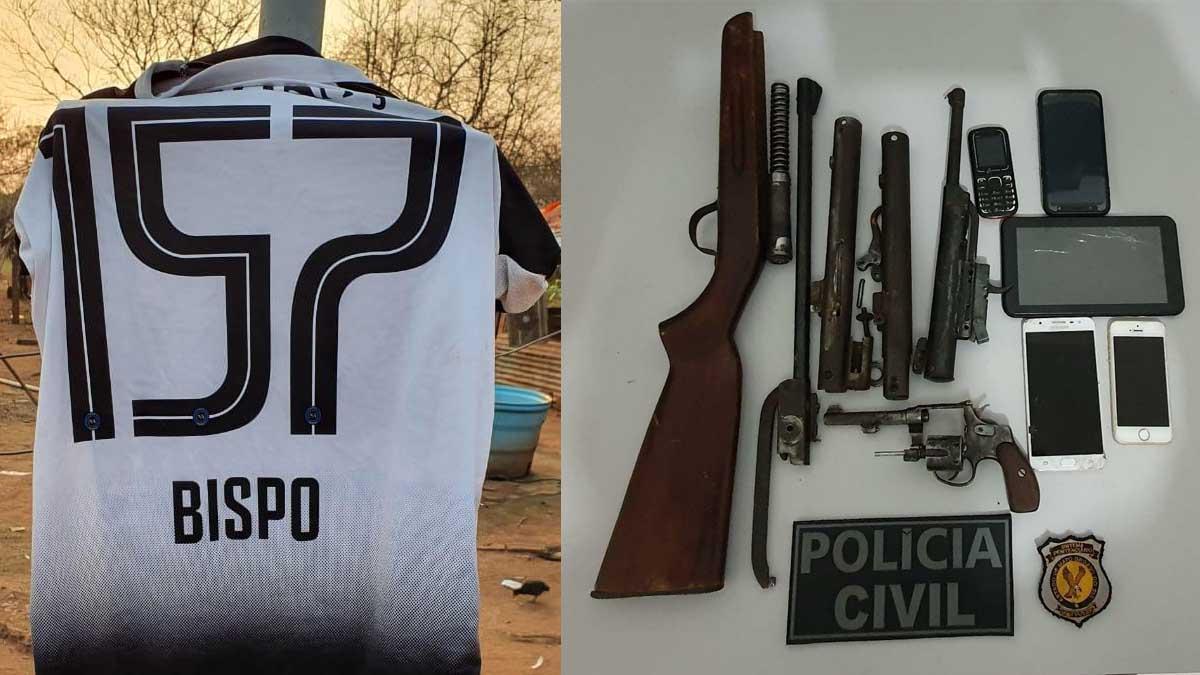 Read more about the article Operação 157: Polícia Civil prende suspeitos de roubos e apreende armas de fogo em Ladário