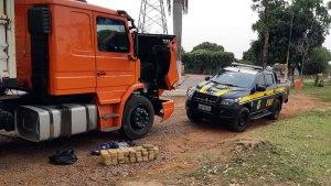 Read more about the article Boliviano que transportava cocaína de Corumbá até SP é preso pela PRF