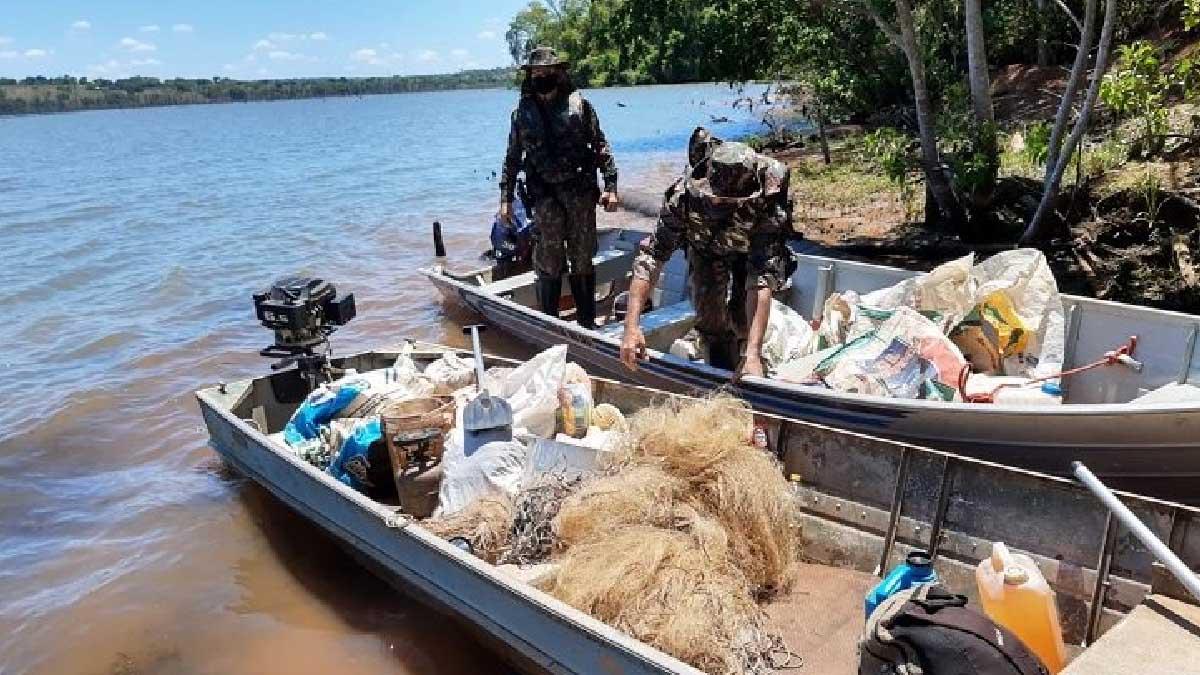 You are currently viewing Operação da PMA intensifica fiscalização contra pesca predatória nos rios do Estado