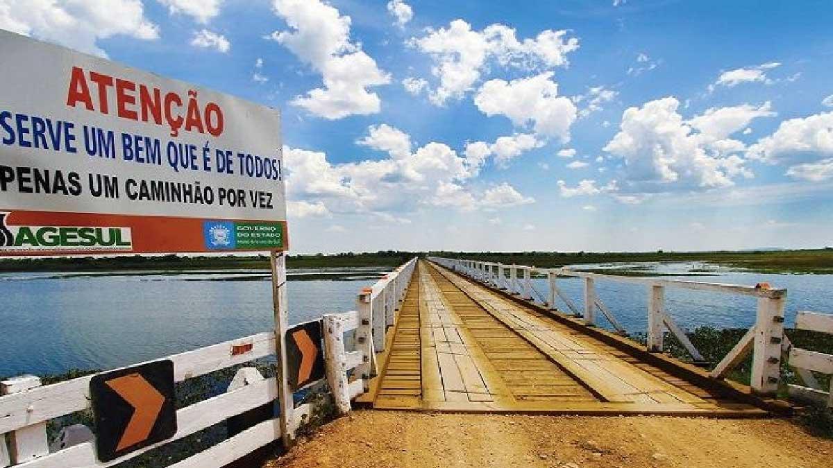 Read more about the article Agesul libera tráfego na ponte do Jatobá após reforma de estrutura