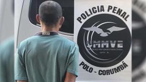 Read more about the article Condenado a 15 anos de prisão é detido após romper monitoramento eletrônico em Corumbá