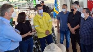 Read more about the article Luciano Costa destaca importância de parcerias para combate de queimadas no Pantanal