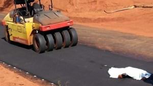 Read more about the article Trabalhador morre atropelado por maquinário durante pavimentação de estrada em MS