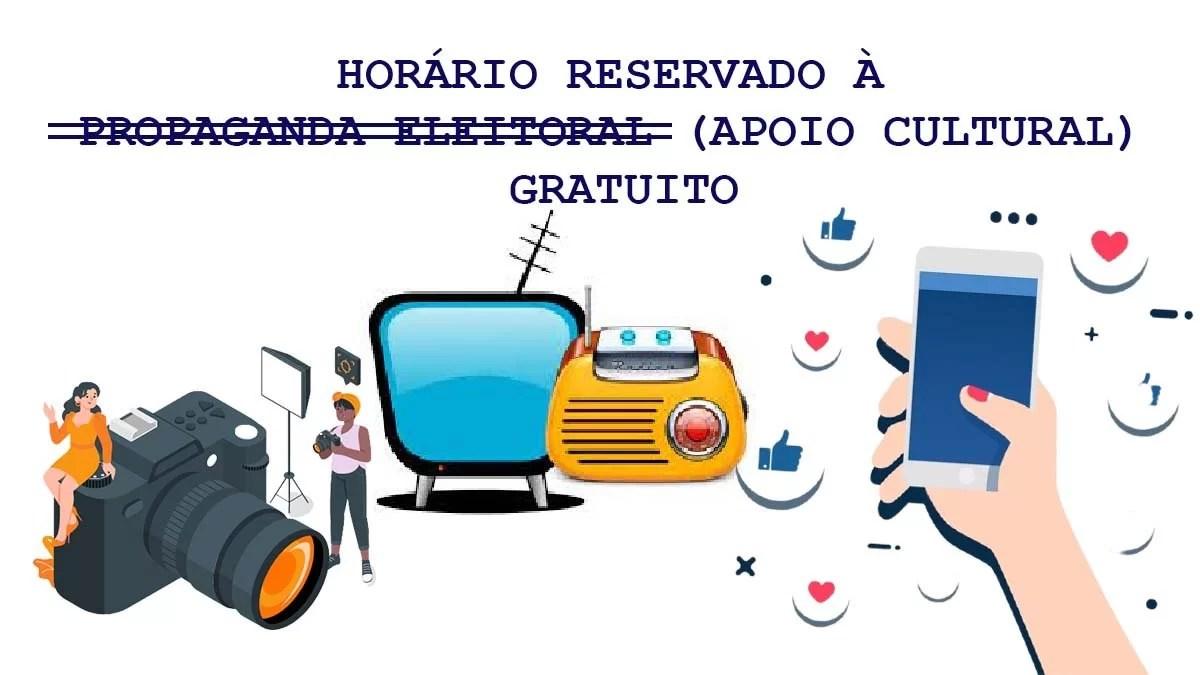 Read more about the article Apoio Cultural ou propaganda eleitoral ? | Opinião
