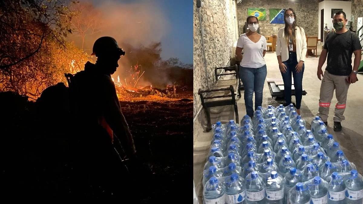 Read more about the article IHP promove campanha de arrecadação de água para brigadistas