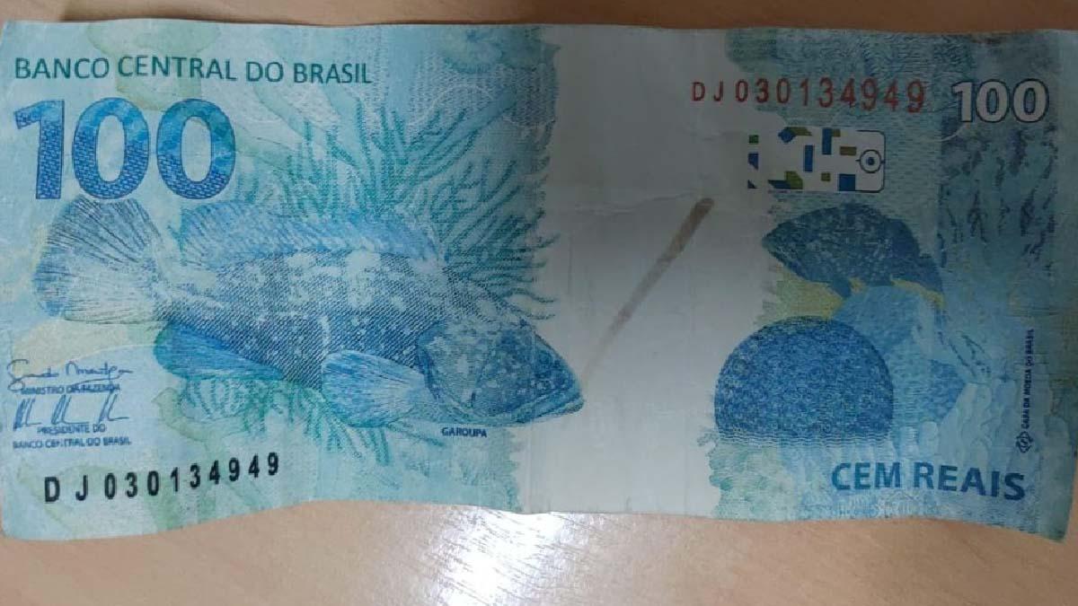 Read more about the article Casal é preso com mais de R$ 2 mil em notas falsas em pagode no bairro Dom Bosco