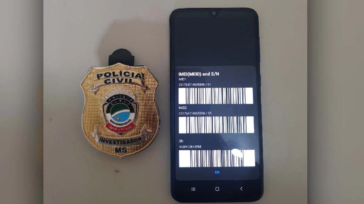 Read more about the article Polícia Civil de Corumbá recupera celular roubado há quase um ano