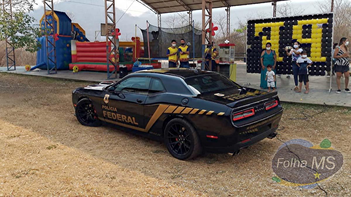 Read more about the article Superesportivo da Polícia Federal é atração em evento do mês das crianças em Corumbá