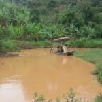 Flagra: extração ilegal de areia no Rio Benevente