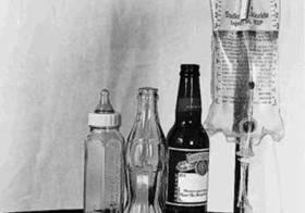 Anicca em quatro frascos