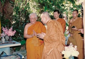 Falecimento de Sua Santidade Somdet Phra Nyanasamvara, Supremo Patriarca do Buddhismo Tailandês