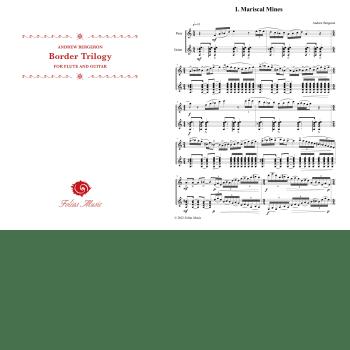 Folias Sheet Music Border Trilogy