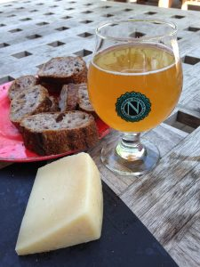 Ninkasi Bread and Cheese Snack