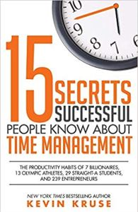 Cover of the book 15 secrets successful people know about time management