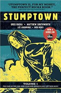 Cover of the graphic novel Stumptown.