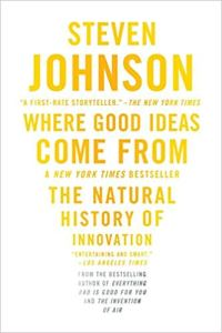 Cover of the book Where Good Ideas Come From.