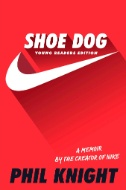 Cover of the book Shoe Dog.