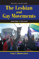 Cover of the Book Lesbian and gay movements.
