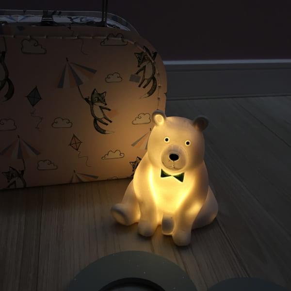 可愛いクマさんライト