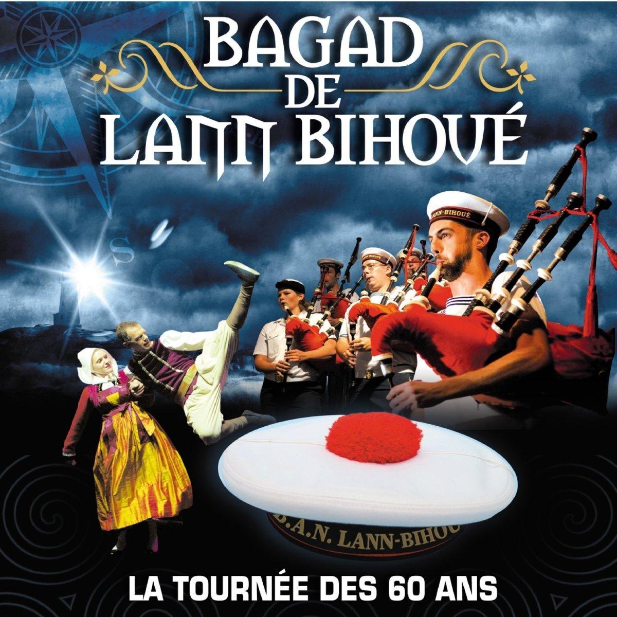 60 ans du Bagad de Lann Bihoué : l'album live le 4 novembre