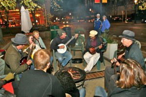Campfire at the 2011 festival