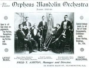 Early Orpheus Mandolin Orchestra