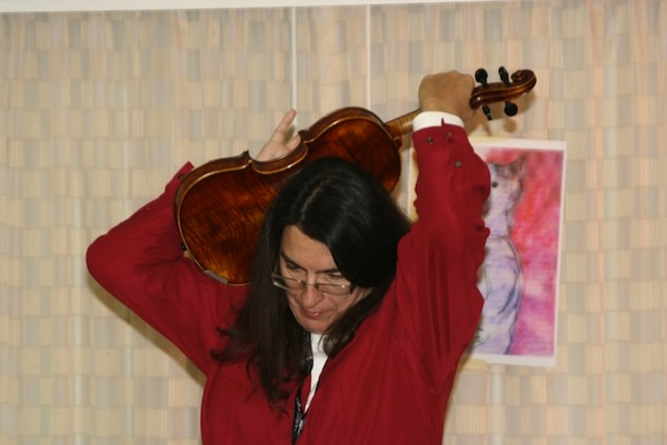 Cajun Fiddle Workshop with Gina Forsyth | C-U FOLK AND ROOTS FESTIVAL