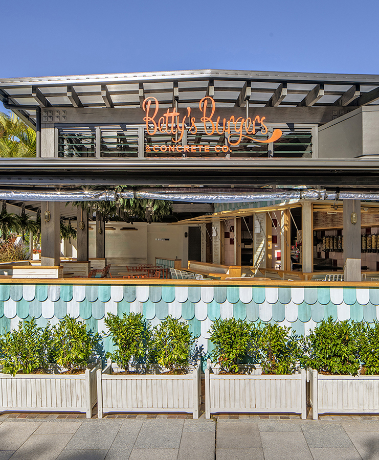 Betty's Burgers Noosa | Custom typography by Folke Army