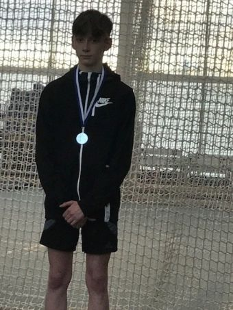 Tommy Owler wins silver in the 300m.