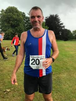 Tony Scott at Mt Ephraim 10k