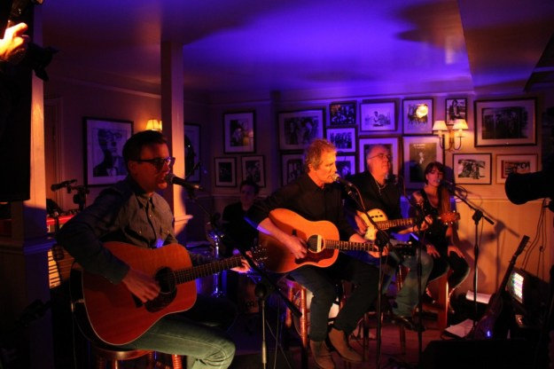 John Illsley and his band at the East End Arms - 8th April 2014. Photograph by dai Jeffries