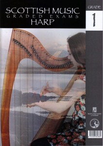 Scottish Music Exam Harp Grades 1 to 5 book